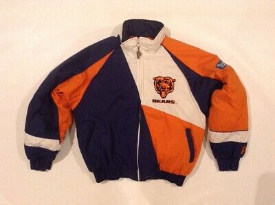 VTG CHICAGO BEARS Shirt Nutmeg Size L NFL 90s Rare Shirt $24.99  free shipping