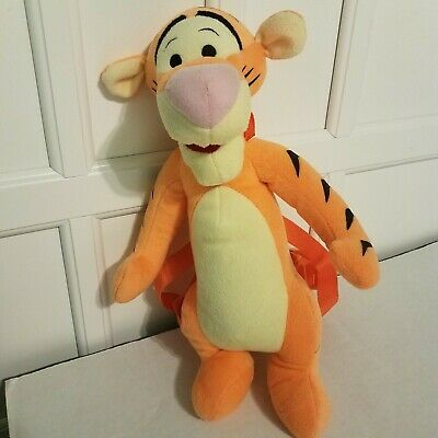 NEW WITH TAG WINNIE THE POOH  TIGGER PLUSH BACKPACK CLIP