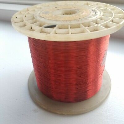 Enameled Copper Magnet Wire 34 AWG - 3.30 lbs Spool