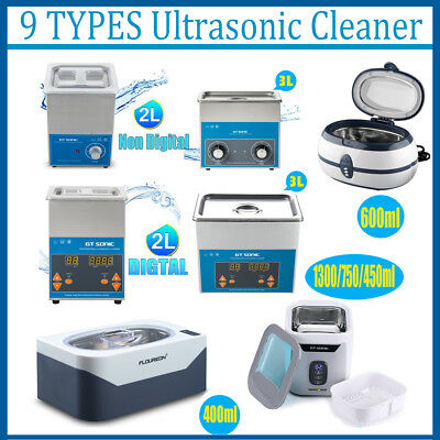 Ultrasonic Cleaner Ultra Sonic Jewellery Watch Cleaning Industrial Stainless NSW