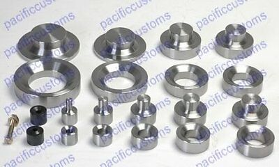 Dimple Die Set Includes: 1.50, 2.0, And 2.5, 3.0 Inch And Dzus Button Die Kit