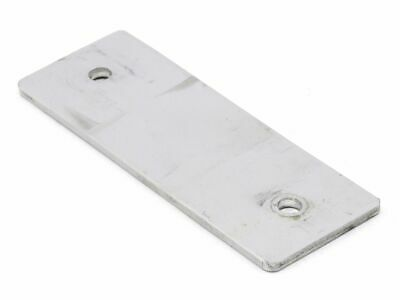 Aluminum 3mm 2x 6mm Hole - Ø Mounting Plate Alu-Element Connection Holder
