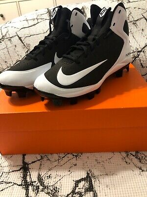 pretty nice 2bd8b f38dd New Nike Alpha Huarache Pro Mid MCS Molded Baseball Cleats 923433-011 Size 7