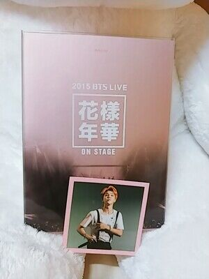 BTS-2015 BTS HYYH LIVE ON STAGE DVD+JIMIN PHOTO CARD rare