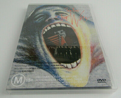 Pink Floyd - The Wall (DVD, 2000) With Poster