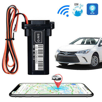 Car Moto Vehicle GPS Tracker GT02 Realtime GSM GPRS Locator Tracking Device