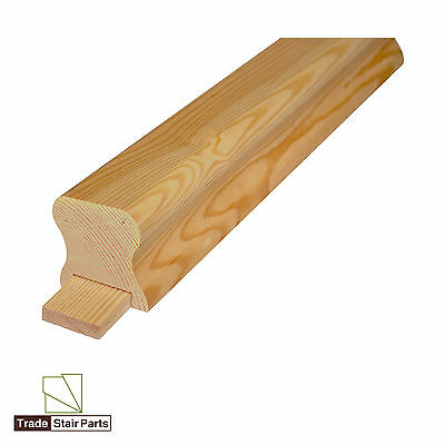 Stair Handrail - Solid Pattern - Solid Wood - Pine