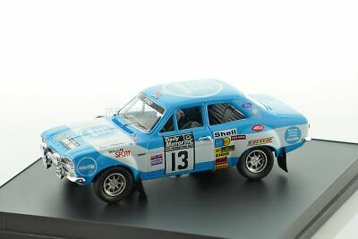1:43 Trofeu 1021-04 Ford Escort RS 1800 Mk II-Rally de Marruecos 1976-makinen