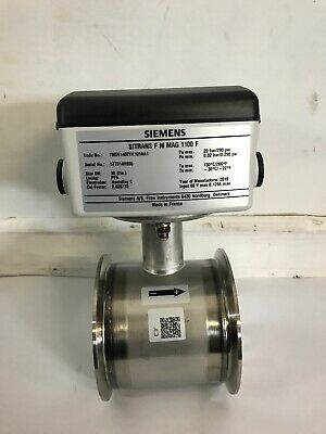 Siemens SITRANS F M MAG 1100 F ELECTROMAGNET FLOW
