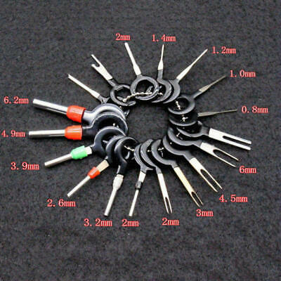 18x Motorcycle Car Wire Terminal Removal Tool Wiring Connector Pin Extractor Kit