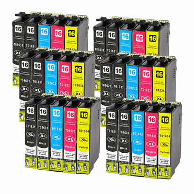 30x Ink Cartridges for Epson Workforce WF-2630WF WF-2650DWF WF-2660DWF Printer 1