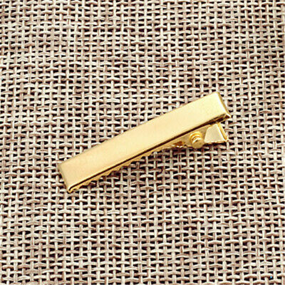 Pack of (x20) Golden Metal Crocodile Alligator Clamp DIY Hair Clips Accessories