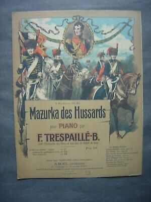 Partition Musicale - MAZURKA DES HUSSARDS
