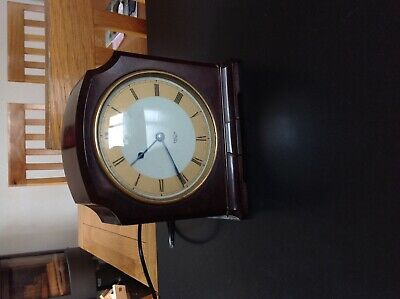 Smiths sectric Bakelite clock working excellent condition for age.
