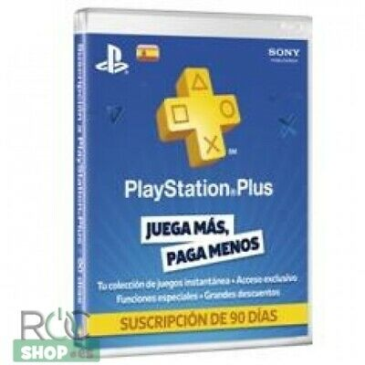 Tarjeta sony playstation plus card 90 dias ps4 / ps3 / psvita