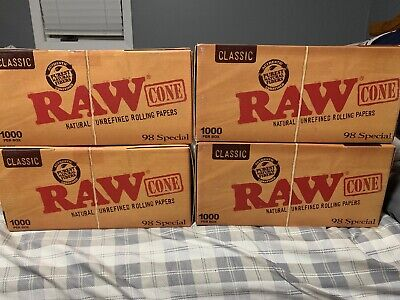 RAW Classic 98 special Size Cones (200 Pack)