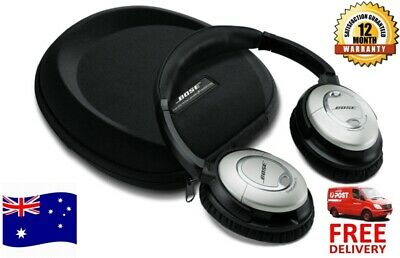 Bose quietcomfort QC15 acoustic noise cancelling headphone with SN AU Warranty