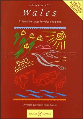 Songs of Wales for Voice and Piano Sheet Music Book 45 Favorite Songs Vocal