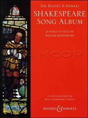 Shakespeare Song Album for Voice and Piano Sheet Music Book 23 Songs William