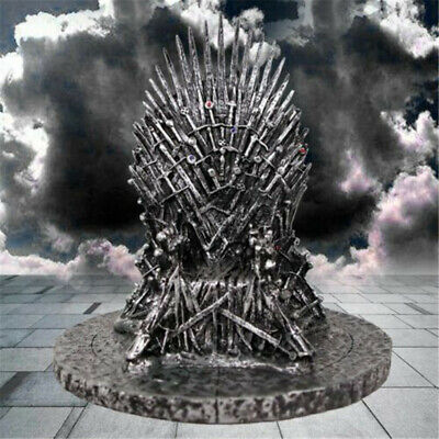 TV Game of Thrones Iron Throne Figure Model Song Of Ice And Fire Replica Statue