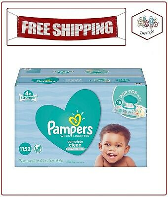Pampers Scented Baby Wipes, Complete Clean (1152 ct.)
