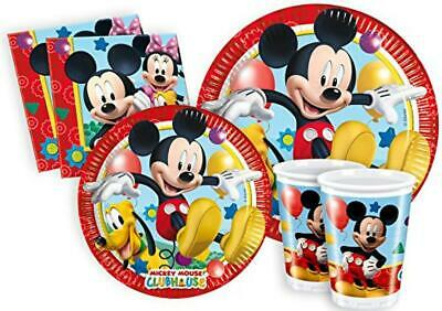 (TG. S (8 persone)) Ciao Y2496 - Kit Party Festa in Tavola Mickey Mouse Club Hou