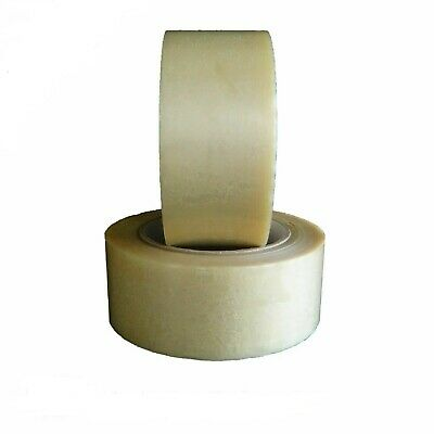 """6 Rolls Adhesive Double-Sided Tape Clear 1//4/"""" wide 60 Yards Pressure Sensitive"""
