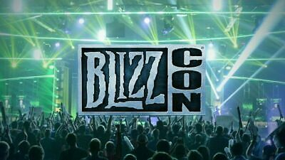 BlizzCon 2019 Pass Ticket Badge with Footman Collectible and Virtual Code