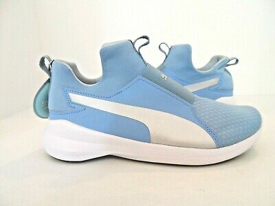 PUMA REBEL MID Swan Athletic Shoes Women's Size 8.5
