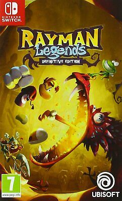 Rayman Legends Definitive Edition Jeu Switch Neuf
