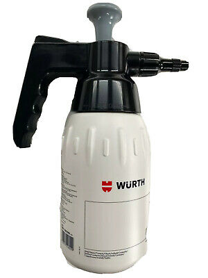 ****GENUINE WÜRTH BRAKE CLEANER PUMP DISPENSER 1ltr BOTTLE ADJUSTABLE SPRAY****