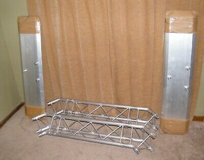 GLOBAL TRUSS 10 x 8 ft. Mobile Arch Goal Post Truss - Base & Top Corners Only