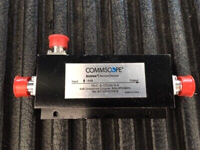 Commscope Andrews C-6-CPUSE-N-A 6dB Directional Coupler