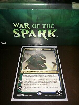 Tamiyo, Collector of Tales NM War of the Spark MTG ONE PRICE SHIPPING
