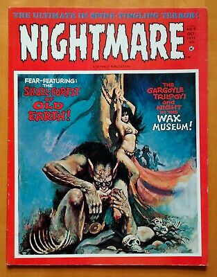 NIGHTMARE #9, Skywald Horror Magazine 1972 (Wrightson, Marcos, Zesar) VF- (7.5)