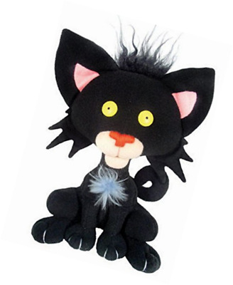 MerryMakers Bad Kitty Plush Doll, 8-Inch