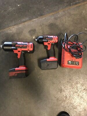Snap On 1/2 And 3/8 Cordless Impacts