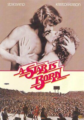 A STAR IS BORN (1976) Kris Kristofferson, Barbra Streisand,  ALL REG SEALED DVD