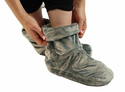 NEW Microwaveable Foot Booties - Herbal Hot / Cold Herbal Aromatherapy