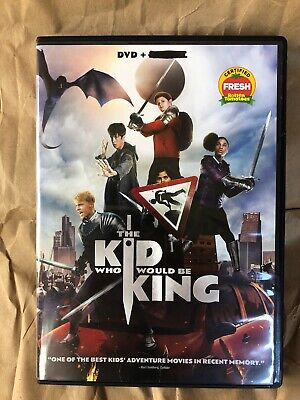 The Kid Who Would Be King (DVD, 2019) Family Movie,  New Release,  Fun Kids Film