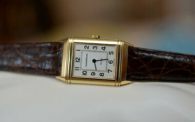 JAEGER LECOULTRE OLD Reverso Classic first-generation YG Wrist watch Excellent