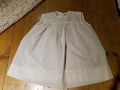 Vintage 1950s Eltain Wear Dress Young Girls Toddler White Sleeveless Summer wear