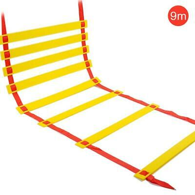 6/9m Agility Speed Training Ladder Footwork Fitness Football Workout Exercise