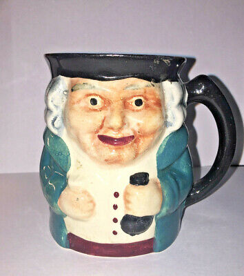 Staffordshire England Toby Mug 'Rich Merchant' by Shorter and Son *RARE FIND*