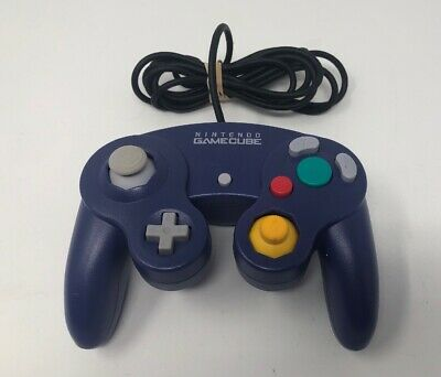 Original Nintendo GameCube Controller (DOL-003) Official Purple - FREE SHIPPING