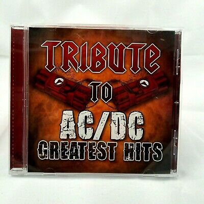 Tribute to AC/DC Greatest Hits by Various Artists CD 2010 CC Entertainment