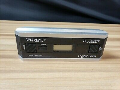 SPI-Tronic PRO-3600 Digital Level Protractor Inclinometer #I-3915