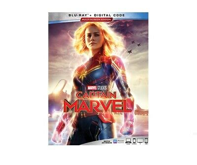 Captain Marvel Blu-Ray Digital Pre-Order Releases June 11, 2019