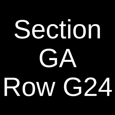 2 Tickets Greta Van Fleet 6/4/19 Breese Stevens Field Madison, WI