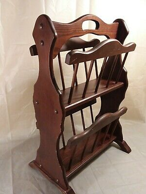 Letter Magazine Rack 2902 French Wooden Shelving Unit